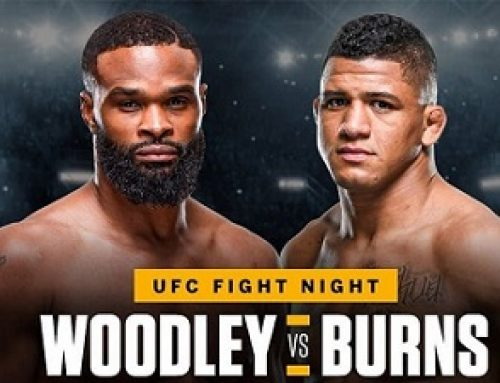Woodley vs. Burns  UFC Fight Night-When & where